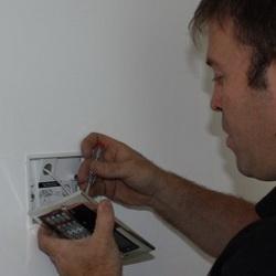 стоимость установки охранной сигнализации видеонаблюдения